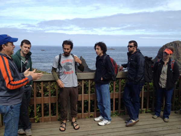 '12 cohort with Bob Duncan at Seal Rock State Park
